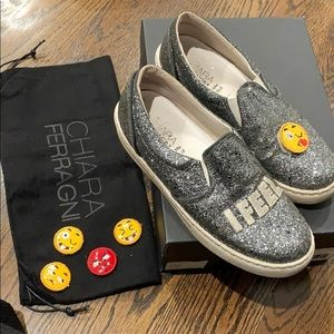 Adorable Chiara Ferragni sneakers